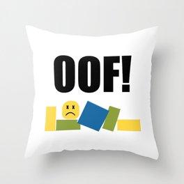 Roblox Oof Throw Pillow