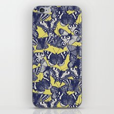 butterfly yellow iPhone & iPod Skin