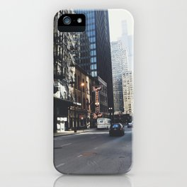 Chicago Street View iPhone Case