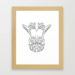 Tribe Soul Framed Art Print