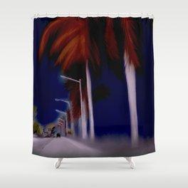 passing Through Shower Curtain