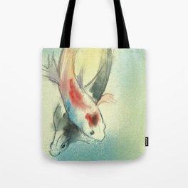 Koi Carp Fish Illustration Tote Bag