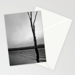 Stand Tall, Alone Stationery Cards