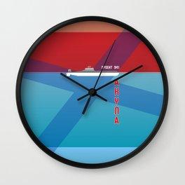 Typhoon Wall Clock