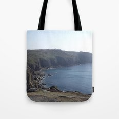 Along The Cliff Edge! Tote Bag