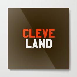 Cleveland Metal Print