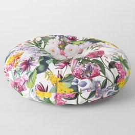 Vintage Garden X Floor Pillow