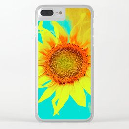 sunflower decor #- Clear iPhone Case