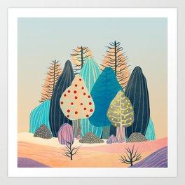 Spring landscapes 2 Art Print