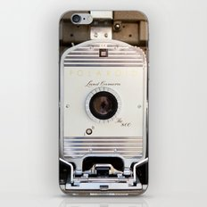 Polaroid 800 vintage camera iPhone & iPod Skin