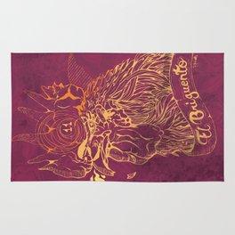 El Briguento - The Fighter (Golden) Rug