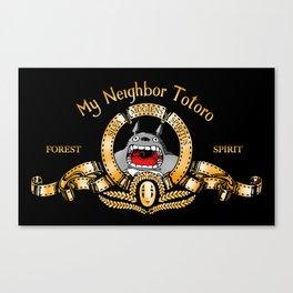 MNT (My Neighbor Totoro) Canvas Print