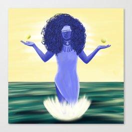 Orisha Yemaya Canvas Print