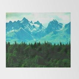 Adventure Mountain Throw Blanket