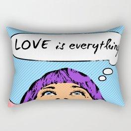 Pop Art Diva I Rectangular Pillow