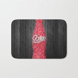 Flower Coke Bath Mat