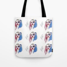 Margot as Harley quinn Fan art Tote Bag
