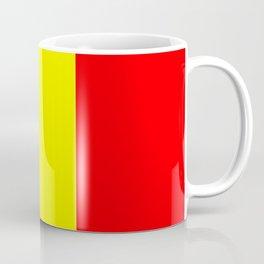 Flag of romania 2 -romania,romanian,balkan,bucharest,danube,romani,romana,bucuresti Coffee Mug
