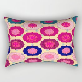 Lotus pattern Rectangular Pillow