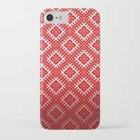 sewing iPhone & iPod Cases featuring SEWING PATTERN by Ylenia Pizzetti