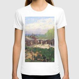 12,000pixel-500dpi - Sir John Lavery - No 3 Gs, Vad Camp, Rouen - Digital Remastered Edition T-shirt