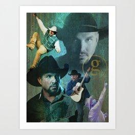 Garth Brooks | Garth Brooks Art Print Art Print