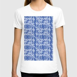Bamboo Rainfall in China Blue/Seashell White T-shirt