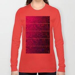 Bio Rhythm I (Five Panels Series) Long Sleeve T-shirt