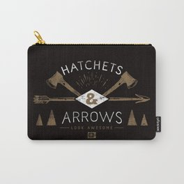 Hatchets & Arrows Carry-All Pouch