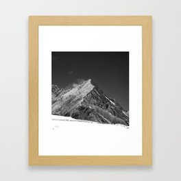 Walking High Framed Art Print