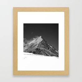 Walking High Framed Art Print