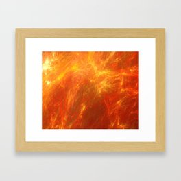 Fyre Element Framed Art Print