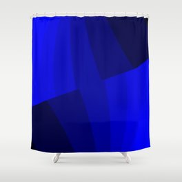 Just Blue #decor #society6 Shower Curtain