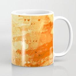 Fresh Orange -Abstract Texture Coffee Mug