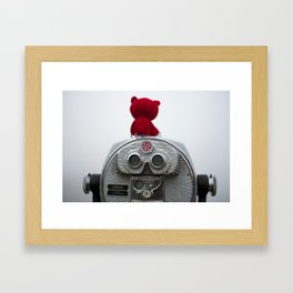 I'm Seeing Red Framed Art Print