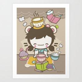 tea love Art Print