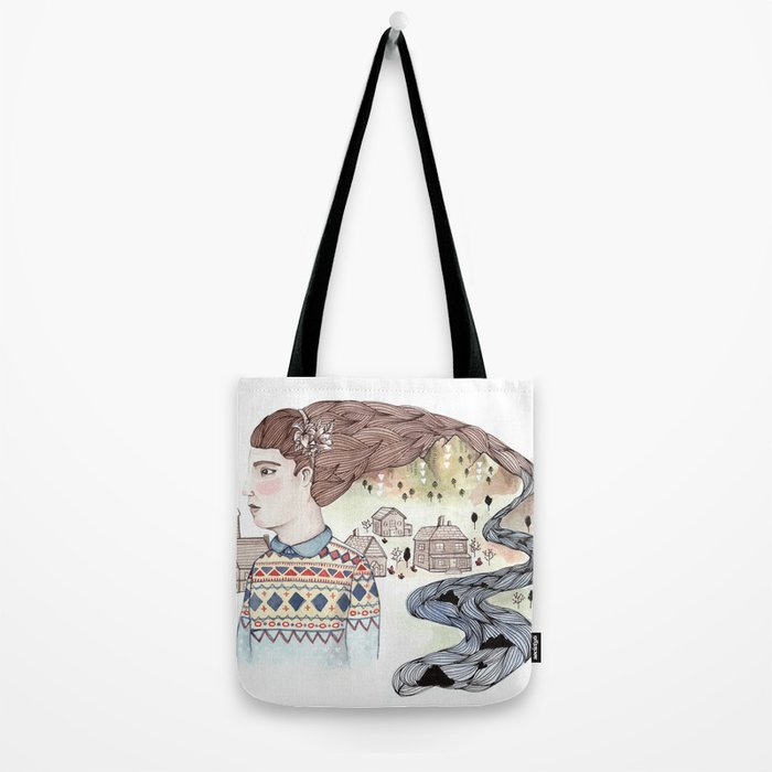 Cold Water Tote Bag