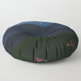 The joys of the great outdoors Floor Pillow