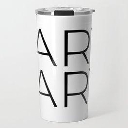 fArt is Art Travel Mug
