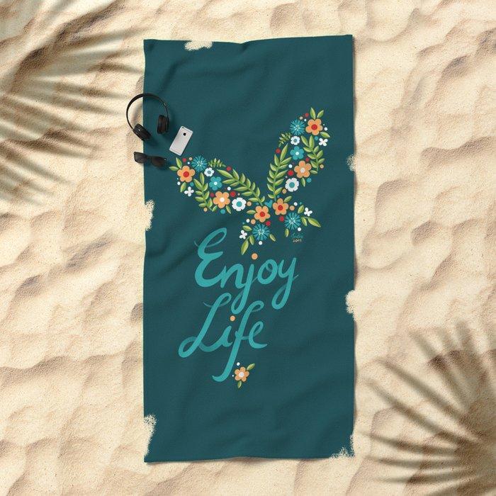 Enjoy Life Beach Towel