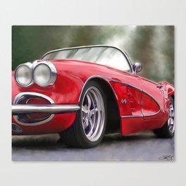 59 Vette Canvas Print