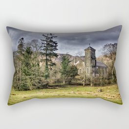 Sanctuary in the Storm Rectangular Pillow