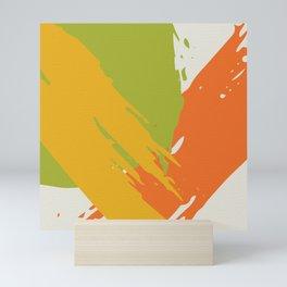 Colorful Brush Strokes AP176-12 Mini Art Print