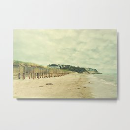 Beach on the Cape Metal Print
