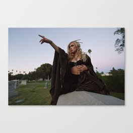 HOLLYWOOD FOREVER CEMETERY, II Canvas Print