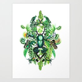 Malachite Art Print