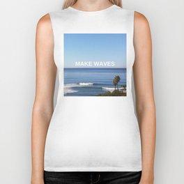 Make Waves Biker Tank