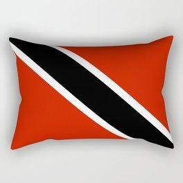 Trinidad and Tobago country flag Rectangular Pillow