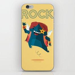 :::Rock Monster::: iPhone Skin