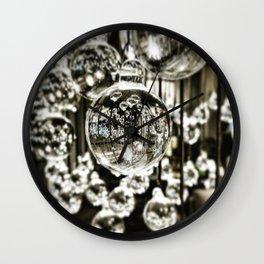 Crystal Balls Wall Clock